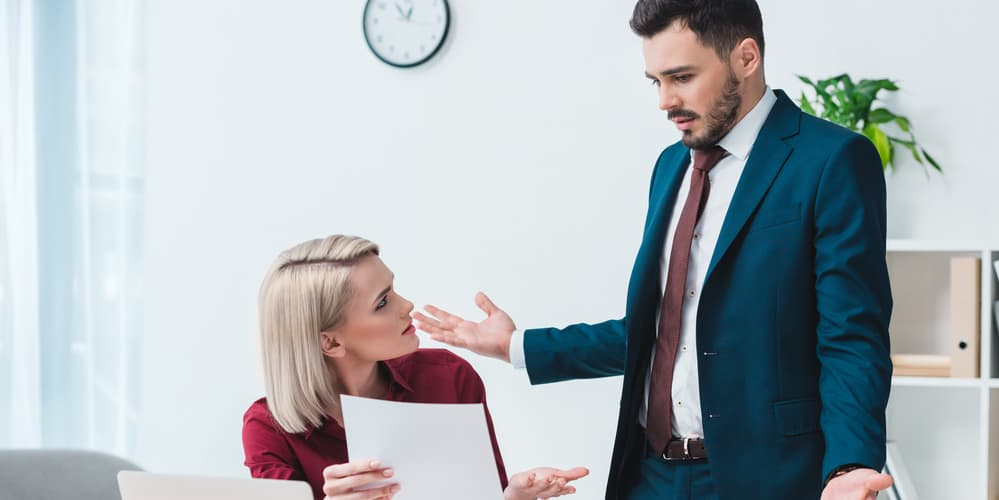 deal face to face with incompetent coworker