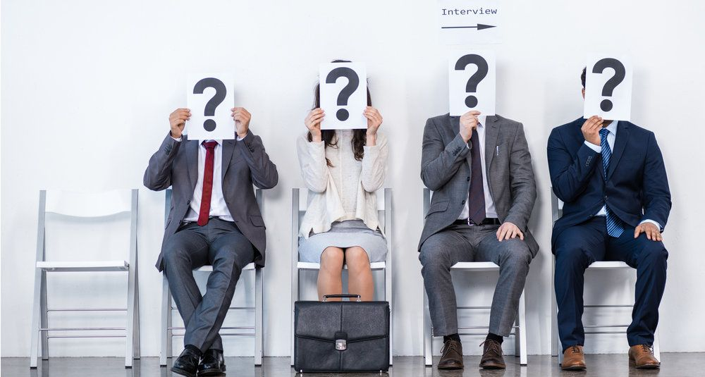 who's the right person for the job interview at time schedule